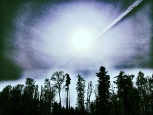 Ein Wolkenblitz durchfuhr die Sonne. Die Erschütterung tat ihr gut.