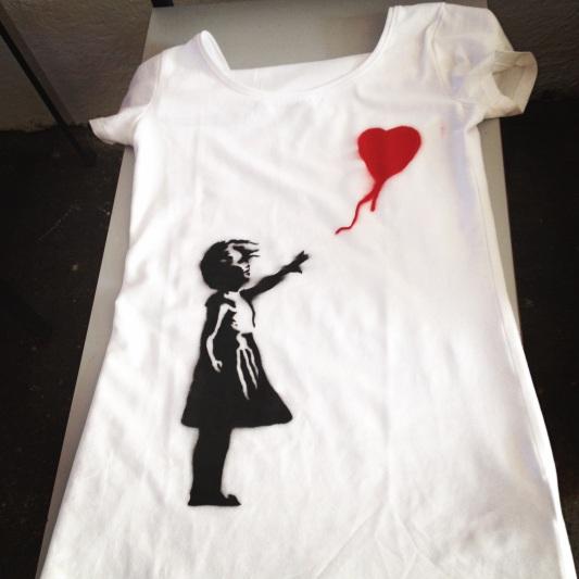 Canelas Banksy-T-Shirt